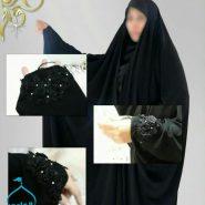 چادر مدل عربی گلدوزی شده