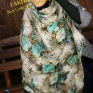 روسری طرح بهشت