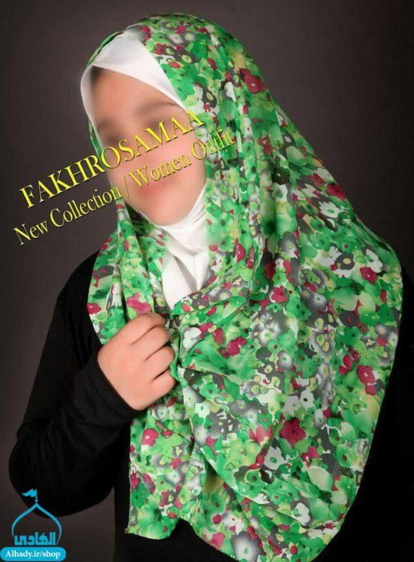 روسری مدل مقنعه شال دار