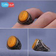 انگشتر عقیق خطی مردانه اصل معدنی ، انگشتر عقیق یمن مردانه ، انگشتر مردانه عقیق یمن ، انگشتر مردانه عقیق سرخ یمن